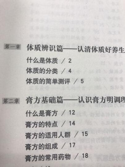 九种体质养生膏方 晒单图