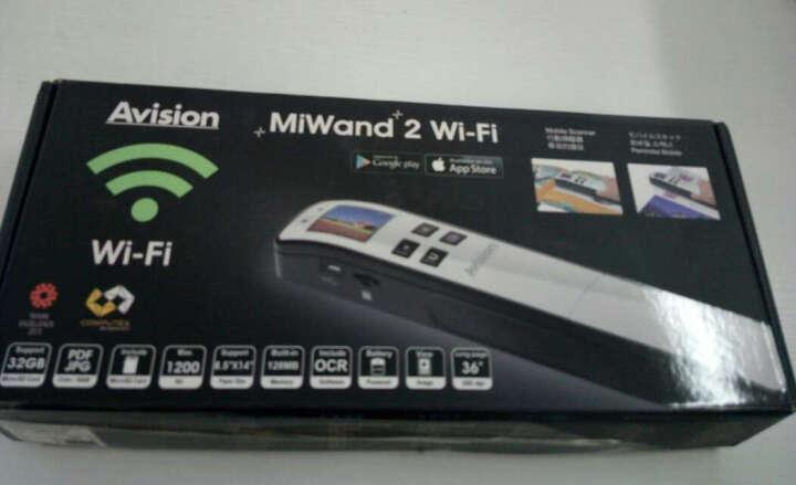 虹光(Avision) MiWand 2 Wi-Fi 便携式扫描仪 扫描笔 手持式 晒单图