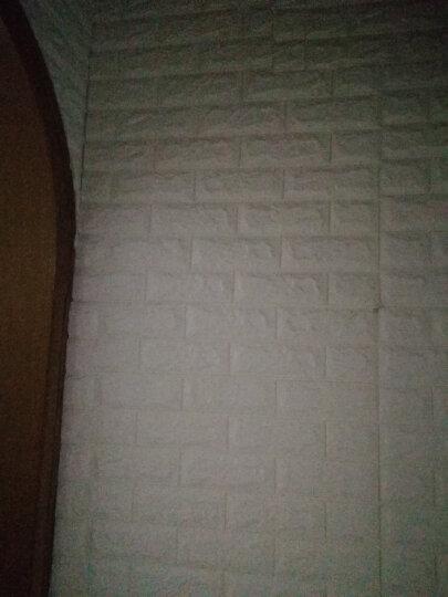 砖纹墙贴3d立体壁纸3d客厅卧室餐厅装饰电视背景墙防水自粘墙纸瓷砖贴纸防 3D砖纹米黄色70*77*1cm 晒单图