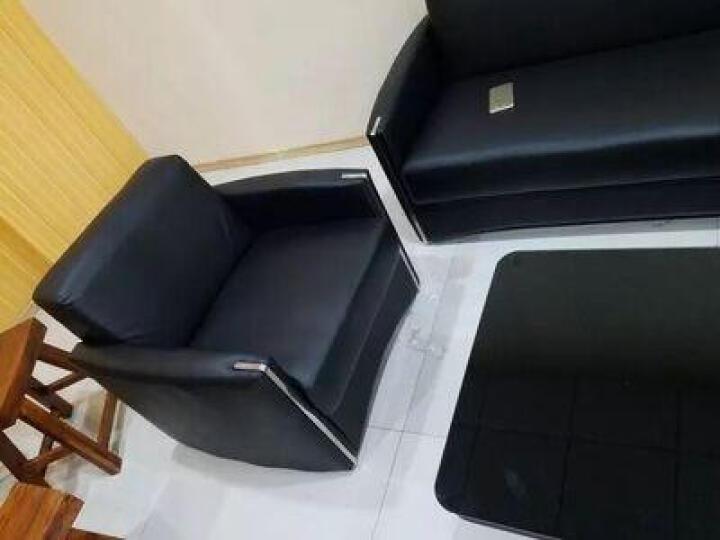 弗纳斯特(FUNASITE) 办公沙发现代简约会客沙发三人位办公室沙发茶几组合接待沙发 三人/优质西皮 晒单图