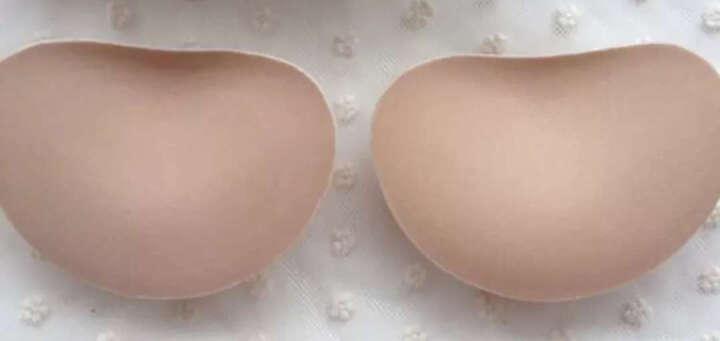 小胸自粘魔术胸垫插片 泳衣2.5CM加厚隐形罩杯增大升级插垫 肤色不退不换 晒单图