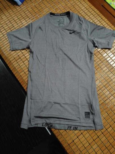 NIKE耐克  紧身T恤FIT速干短袖PRO紧身衣运动短袖 703095-091 L 晒单图