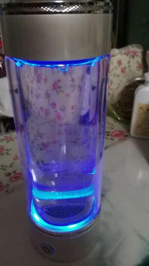 英润富氢水杯水素水杯高浓度水素杯弱碱性水杯负电位电解水杯氢氧分离日本进口材质水素生成器 锌合金白色 晒单图