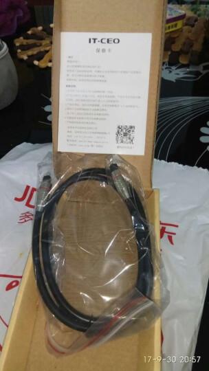 IT-CEO 数字数码光纤线 DVD家庭影院音频线 方口音响连接线 播放机蓝光机与功放连接 支持5.1音效 1米 Y1GQ 晒单图