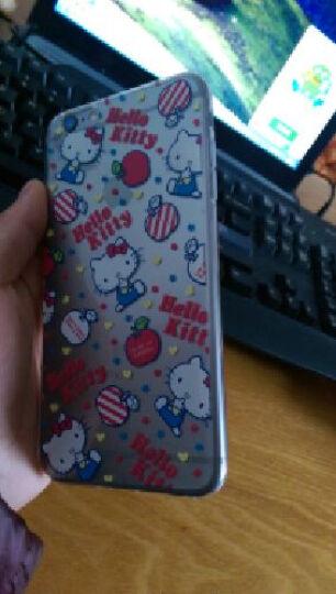 【买壳送壳】helloKitty 可爱透明苹果iphone6sPlus卡通手机壳超薄 甜点硬壳-5.5 晒单图