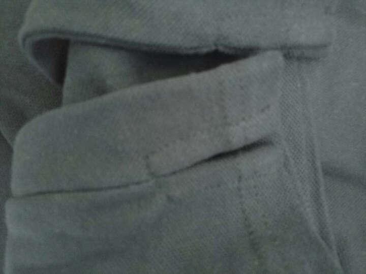 波司登男装 长袖T恤男 t恤男2017款长袖POLO衫新款运动休闲POLO衫上衣 藏青N101 175 晒单图