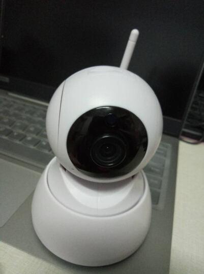 安爸 【送64G】无线监控摄像头监控器wifi手机远程监控摄像头360°高清网络家用监控器智能摄像头 新款—电池款【充电 , 免插电】 晒单图