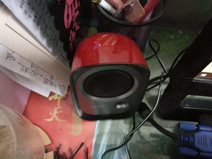 漫步者(EDIFIER) R10U 2.0声道 多媒体音箱 音响 电脑音箱 黑色 晒单图