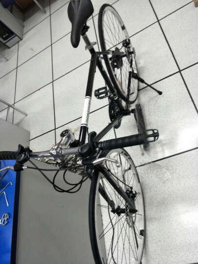 T 7 T7公路车自行车21/27速26寸山地车禧玛诺双碟刹减震新款学生越野男女700C公路赛单车 复古灰-直把 21速 晒单图