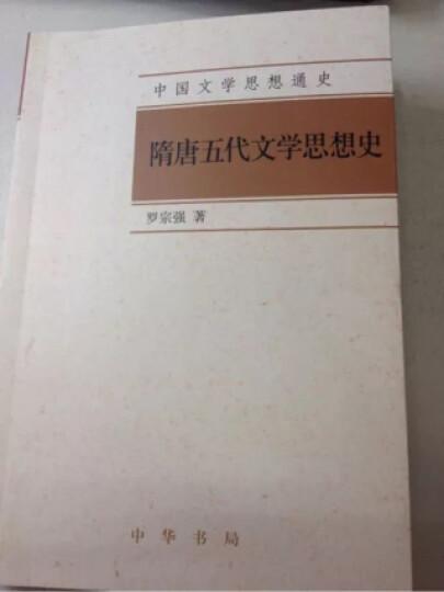 中国文学思想通史:隋唐五代文学思想史 晒单图