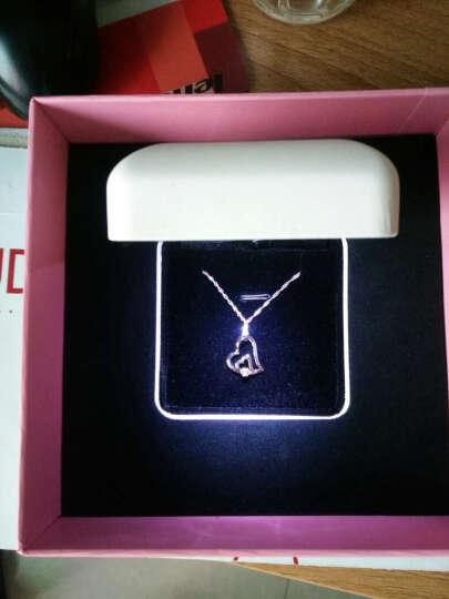 迈娜(Maila) 迈娜Maila 钻石项链钻石吊坠女锁骨链女银饰品时尚首饰 晒单图