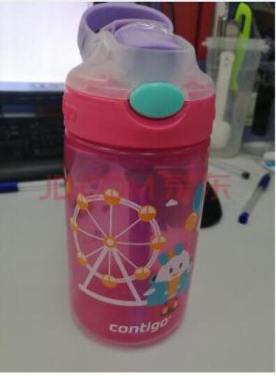 美国CONTIGO 小发明家儿童杯 小飞行员 卡通塑料便携水杯 宝宝防漏水壶400ml 晒单图