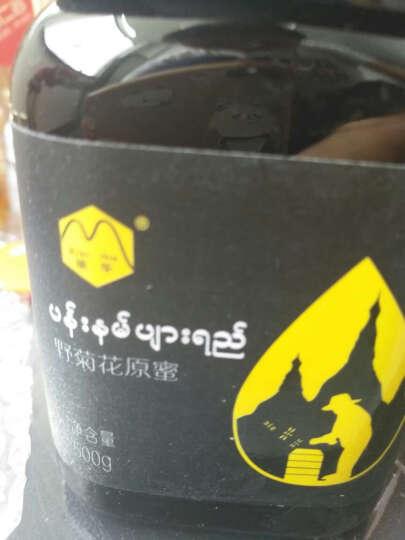 缅华缅甸进口原蜜野生原生态天然农家土蜂蜜柠檬花+咖啡花+野菊花+西西果花2000g 晒单图