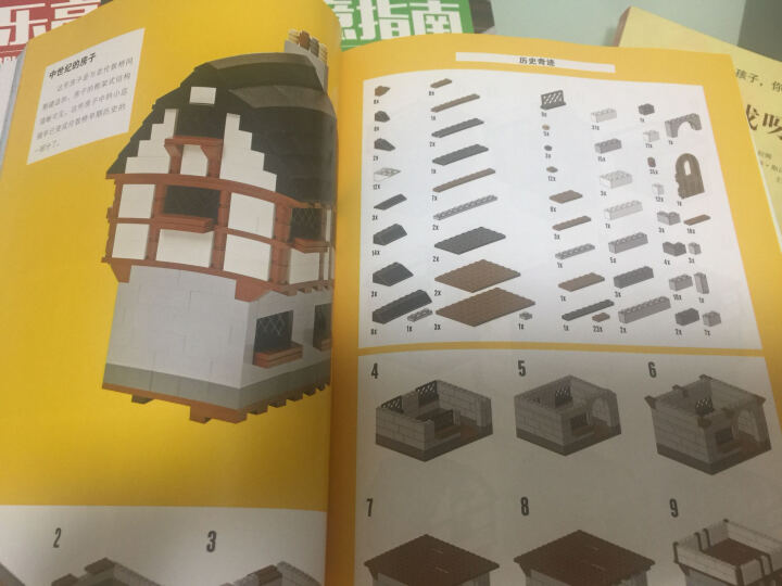 乐高LEGO创意指南:乐高搭建城市建筑+世界奇迹+交通工具+电影世界(套装共4册) 晒单图