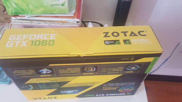 索泰(ZOTAC)GeForce GTX1060-6GD5至尊Plus OC 绝地求生/吃鸡显卡 1607-1835/8108MHz 6G/192bit 晒单图