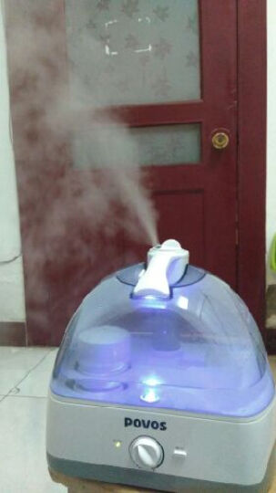 奔腾(POVOS)加湿器 5L大容量 净化滤芯 静音迷你卧室婴儿办公室客厅家用带夜灯空气加湿空调增湿器 PW115 晒单图