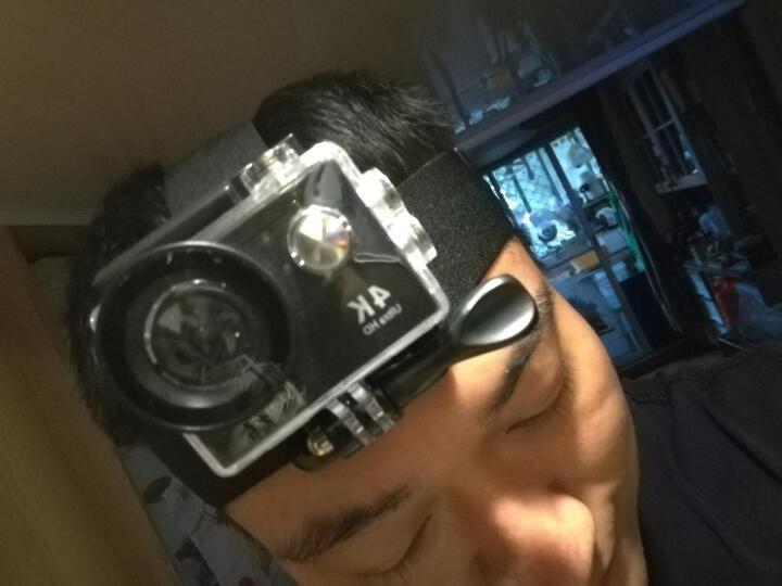 史历克运动相机水下潜水4K户外高清摄像机8G内存版防水30米航拍行车记录仪2英寸大屏带wifi 黑色+16G高速存储卡+头戴套+包 晒单图