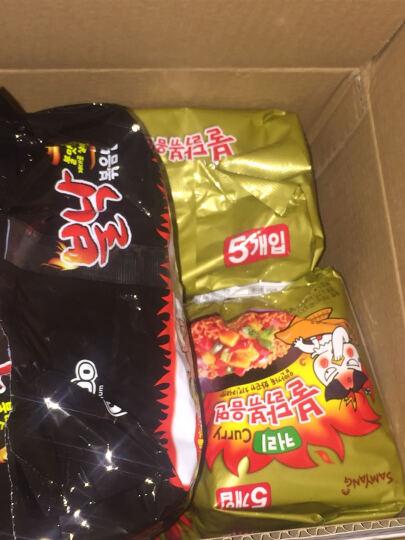 韩国进口 三养(SAMYANG)方便面拉面 火鸡面 三养咖喱拌超辣碗面 干拌面 105g 晒单图