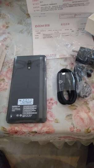 【移动专享版】诺基亚6 (Nokia6) 4GB+64GB 黑色 双卡双待 移动联通电信4G手机 晒单图