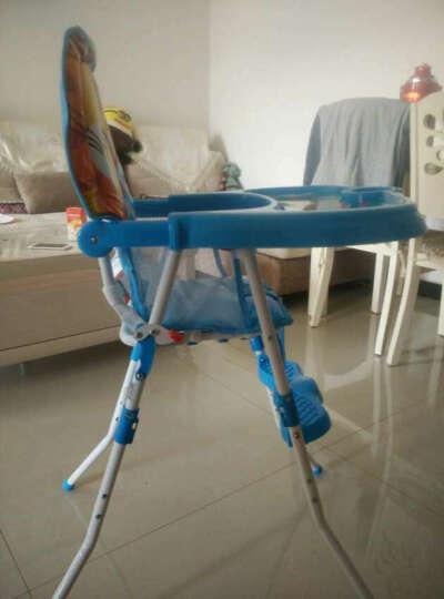 宝宝好 217收合体积小可折叠可做小板凳便携多功能婴儿餐椅宝宝吃饭餐椅儿童餐椅 217C-909粉 晒单图