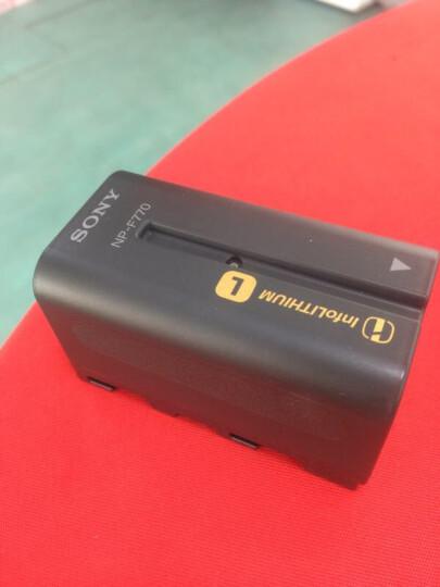 索尼(SONY) NP-F970原装电池 NX3 Z150 NX100 MC2500 Z100摄像机 NP-F770电池 适用于索尼专业摄像机 晒单图