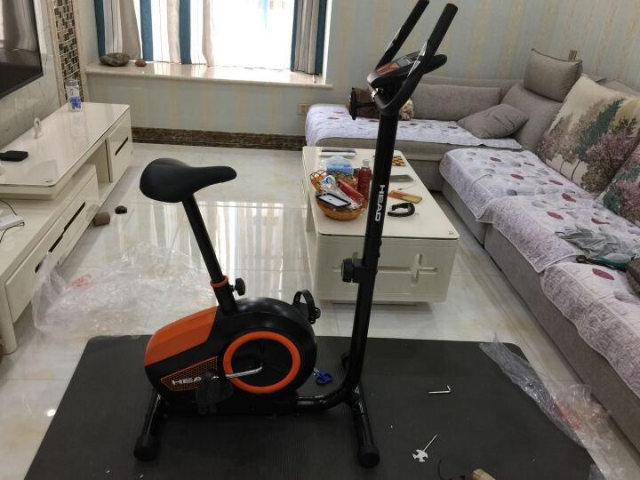 海德(HEAD)2020款健身车 企事业单位 家商用 懒人静音动感单车 H-U117橙色 晒单图