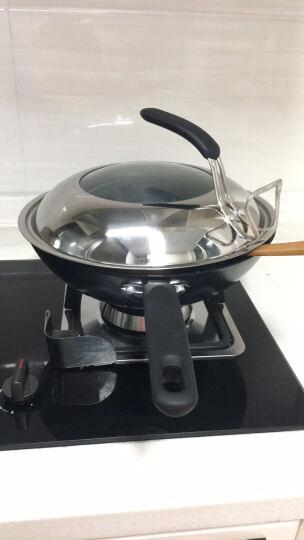 爱仕达 30CM新一代铸铁锈不了炒锅 WG8330QB 健康无涂层炒菜铁锅煎锅 晒单图