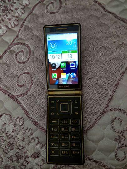 三星(SAMSUNG) W2015  电信4G 智能翻盖手机 双卡双待 电信4G手机 尊贵金 晒单图