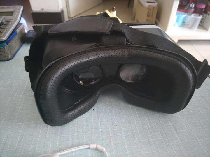 UQY 千幻魔镜G04EA vr眼镜虚拟现实3D眼镜ar智能头盔vr游戏机升级版视听一体机 【沉浸游戏版】VR眼镜+通用手柄+耳机+VR礼包 晒单图