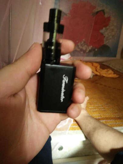 君睿正品电子烟套装80W大烟雾产品新款蒸汽戒烟器水烟送烟油男女 骑士黑 晒单图