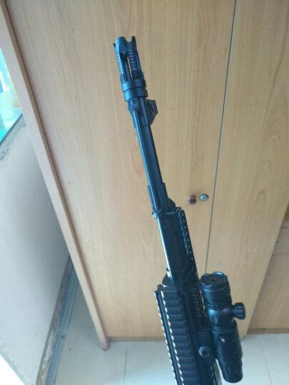 锦明8代下供弹M4玩具枪金属消音火帽器可调节NERF玩具专用装饰金属配件仿真模型 长款拔帽 晒单图
