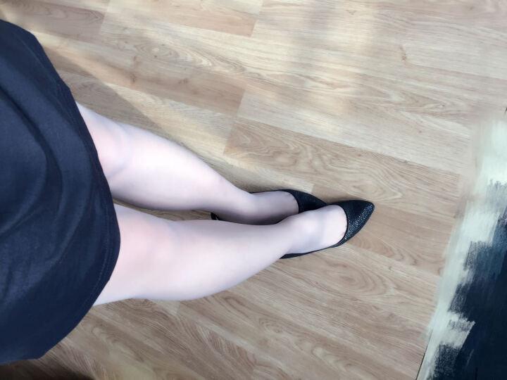 浪莎丝袜连裤袜女超薄包芯丝防勾丝加档丝袜女袜子1条 灰色-加档款 均码 晒单图