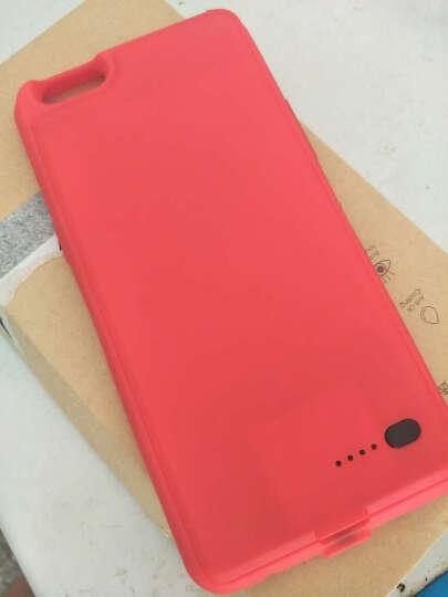 MATE oppor9s充电宝OPPOR9S plus背夹电池超薄移动电源无线手机壳 幸运红 oppoR9plus 晒单图