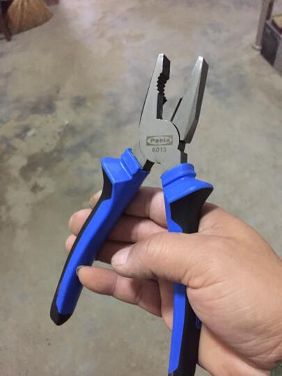 Paola工具 德式钢丝钳8寸(200mm)老虎钳 钳子 加持工具 6013 晒单图