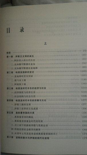 中东史610-2000(套装上下册) 晒单图