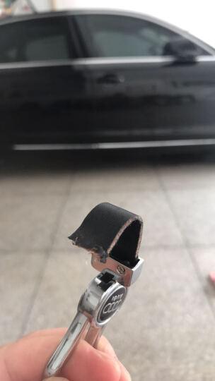 TZ 奥迪A6L钥匙包 A4L/A5/Q5/A7/A8/A8L汽车钥匙壳专用改装钥匙包套扣 折叠款土豪金单壳 A1/A3/A4/A6/A6L/R8/TT折叠款 晒单图