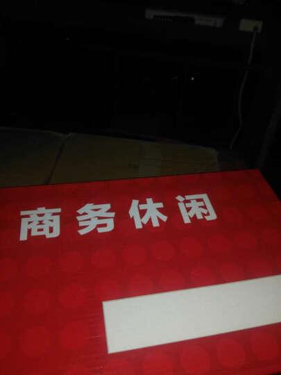 南极人(Nanjiren)时尚新款休闲鞋 男鞋时尚商务鞋板鞋潮鞋鞋子男皮鞋 16002NJ985桔色 39 晒单图