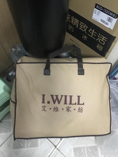 艾维(I-WILL)床品家纺床褥子 竹炭床垫子垫被榻榻米加厚款 单人加大 120*200cm 晒单图