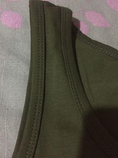 檀梵2019夏季莫代尔纯色运动背心男套头圆领紧身背心男式高弹力无袖速干T恤 灰色(请拍大一码) XXL 晒单图