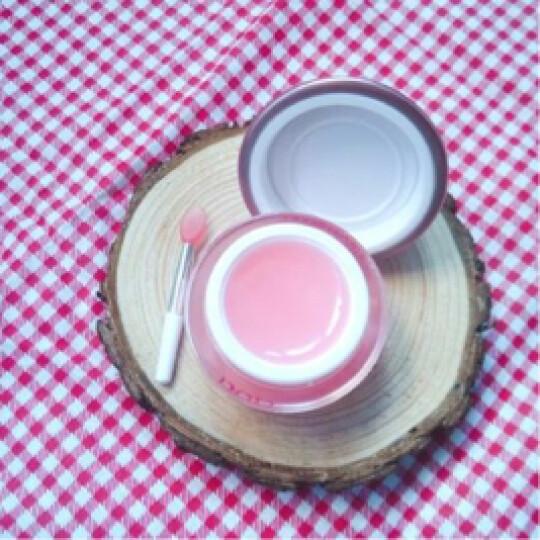 葆丽匙(Bols) 夜间保湿修护唇膜(草莓味)10g(控油 补水保湿 去角质) 身体乳50ml1支 晒单图