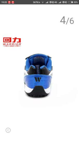 回力童鞋女童训练鞋2020新款碎钉子耐磨男童足球鞋时尚帅气儿童运动鞋 时尚蓝色 37码鞋内长约23cm 晒单图