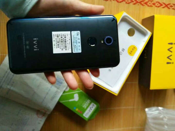 ivvi K5 裸眼3D手机 深海蓝 全网通(4GB RAM+64GB ROM) 晒单图