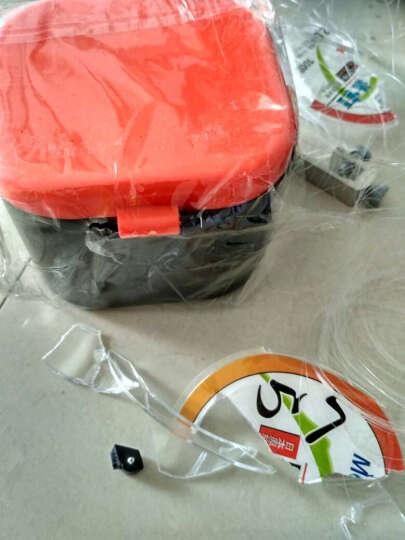 佳钓尼 蚯蚓盒 红虫盒 多功能活饵盒 保湿透气配件盒 精致保鲜 渔具盒 橙色 大号(正方形) 晒单图