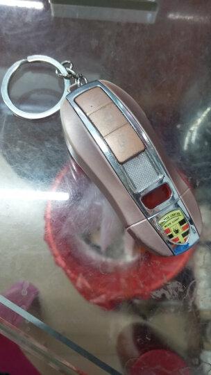 香烟打火机钥匙充电打火机 创意防风个性USB电子点烟器 非煤油充气电弧送兄弟 黑色 晒单图