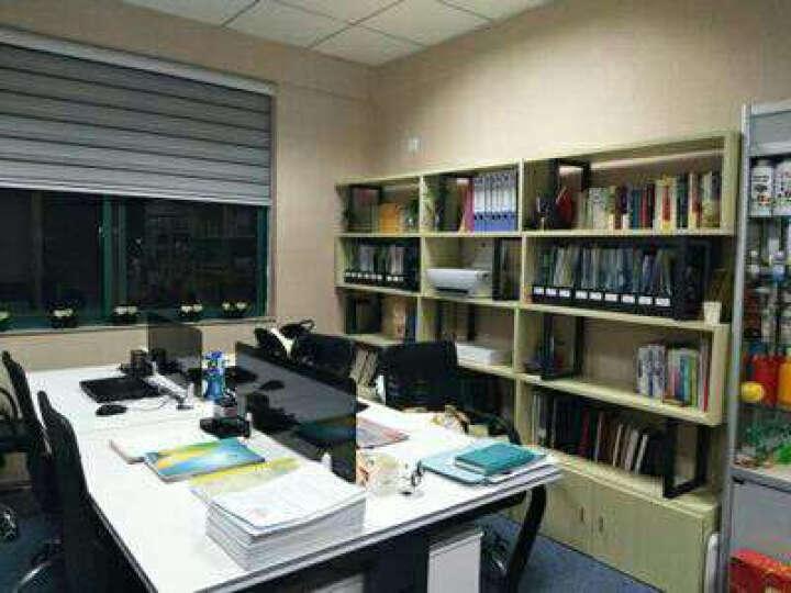 腾匠办公家具 办公家具职员办公桌屏风组合电脑简约现代卡座隔断工作台员工位2/4/6人位 白色 双人位不含柜椅 晒单图