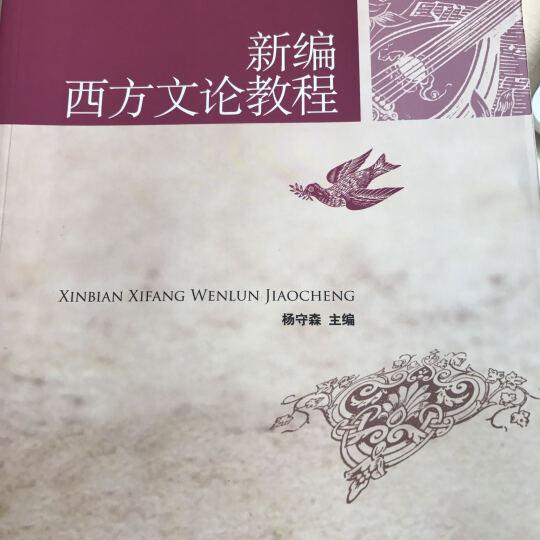 新编西方文论教程/21世纪中国语言文学系列教材 晒单图