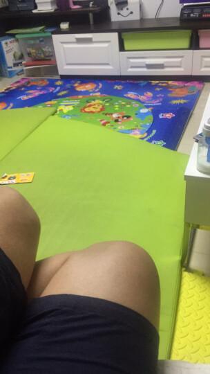 蔓葆(mambobaby) 儿童宝宝拼图游戏爬行垫毯爬爬垫乐扣地垫泡沫拼接环保加厚 海底世界6片装边条款 晒单图