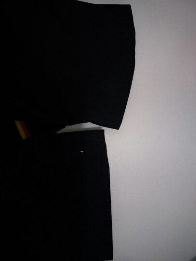 九绅新款中山装青年男士修身立领西装套装男立领西服正装中国风中华立领唐装新郎礼服 黑色中山装 XL/175上衣/32码裤子 晒单图
