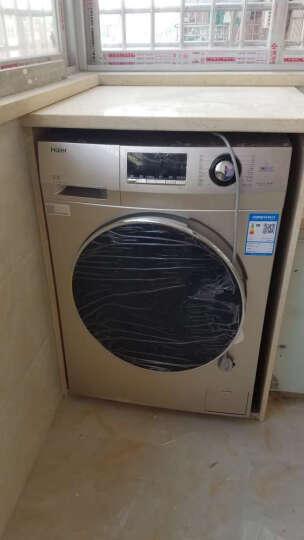 海尔(Haier) 8公斤大容量全自动烘干变频滚筒洗衣机G80629HB14G 晒单图