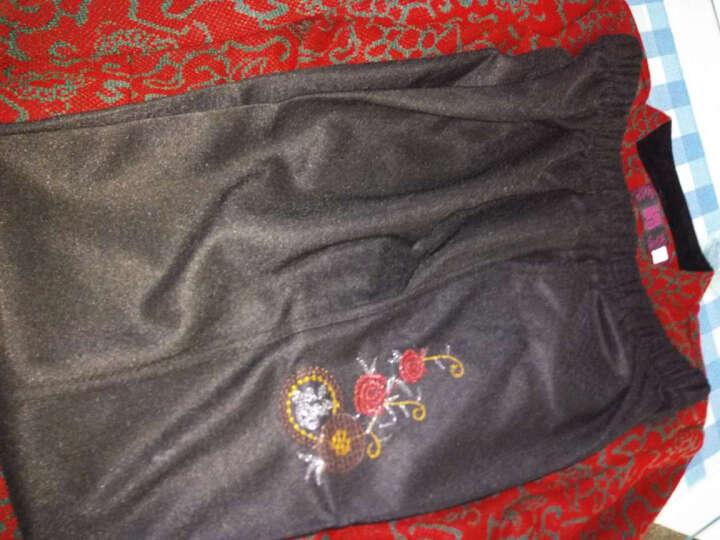 汝惜 奶奶装春装中老年女装外套2018老年人女装新款唐装60-70-80岁老太太服饰上衣 紫色春款送配套裤子 L(建议70-95斤穿) 晒单图